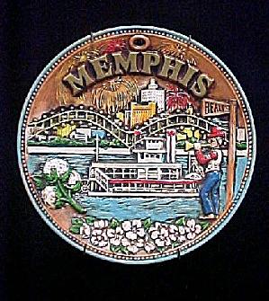 Memphis Ceramic Souvenir Plate (Image1)