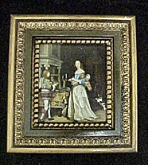 Lady Donning Her Raiment - Period Scene (Image1)