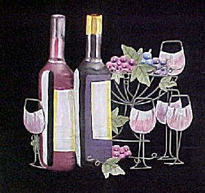 Still Life Metal Art - Wine Grouping (Image1)