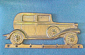 Brass Vintage Car - Key Rack  (Image1)