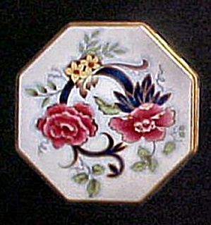 Floral Tin Container - Daher (Image1)