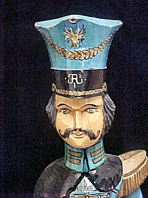 Wooden Russian Soldier - Period Style