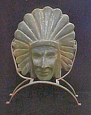 Native American Head W/headdress