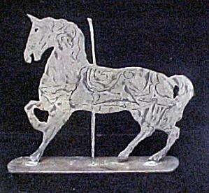 Merry-Go-Round Style Iron Unicorn (Image1)