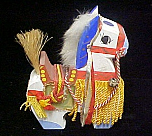 Wooden Toy Horse - Japanese (Image1)