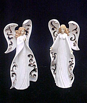 Pair of Angel Candle Holders (Image1)