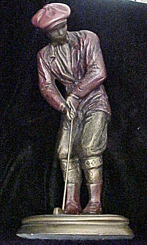 Austin Hampton Green Male Golf Sculpture (Image1)