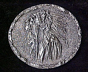 Vintage Indian Profile Belt Buckle (Image1)
