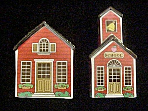 Salt & Pepper Shakers - Home & School (Image1)