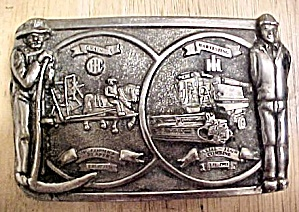 International Harvester's Metal Belt Buckle (Image1)