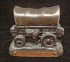 Advertising - Cast Metal Covered Wagon