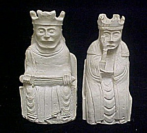 Iles Of Lewis King & Queen Bookends