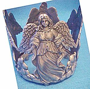 Angel Metal Bottle Holder - Sculpture (Image1)