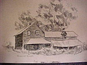 Print of Early Riverside Ranch (Image1)