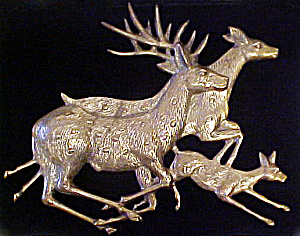 Brass Deer Plaque (Image1)