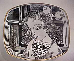 Romanian Porcelain Tray (Image1)