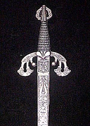 Vintage Spanish Sword Letter Opener (Image1)