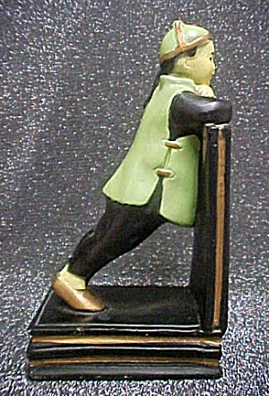 Vintage Alexander Backer Asian Child Bookend