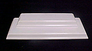 Display Stand - White Wooden - Two Tier (Image1)