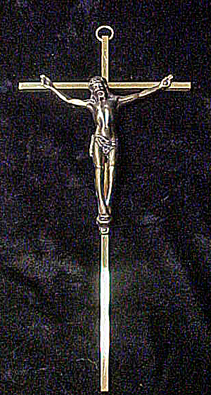 Metal Crucifix  INRI (Image1)