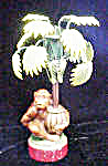 Monkey w/Palm Tree Candle-Holder (Image1)