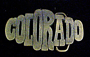 Colorado Brass Belt Buckle (Image1)