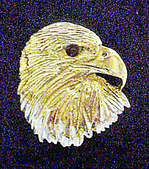 Metal Eagle's Head Pendant/Charm (Image1)