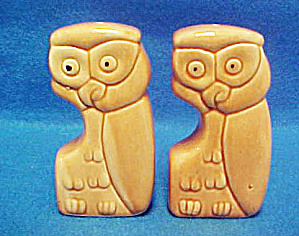 Ceramic Owl Salt and Pepper Shakers (Image1)