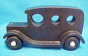Large Black Wooden Touring Auto (Image1)