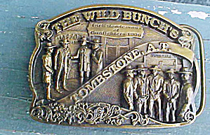 Tombstone - The Wild Bunch Belt Buckle (Image1)