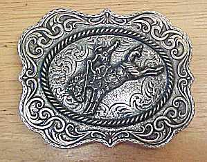 Bronco Belt Buckle - Montana Silversmiths (Image1)