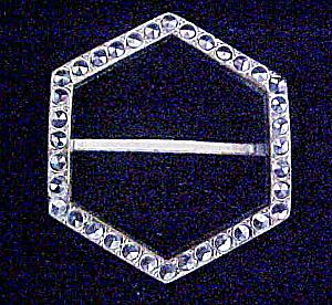 Czechoslovakia Silver-Toned Sash Slide  (Image1)