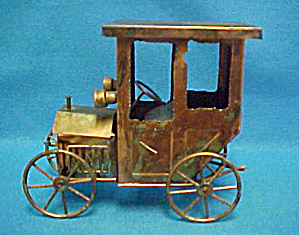 Model T Auto - Tin Music Box (Image1)
