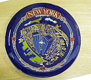 World Trade Center Souvenir Plate (Image1)