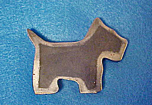 Terrier Metal Paper Weight - 20th Century