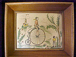 High Wheeler Print - Framed (Image1)