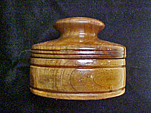 Wooden Box W/lid - Tobacco Box?