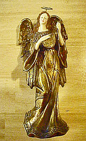 Golden Angel Playing Mandolin (Image1)