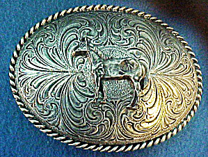 Western Horse Belt Buckle (Image1)