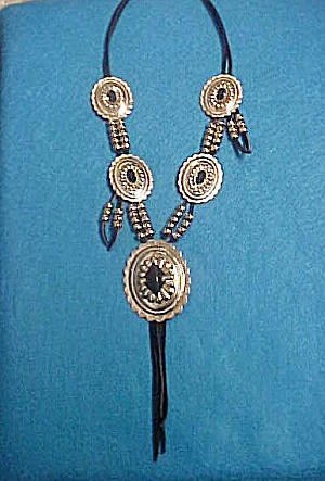 Concho Necklace - Native American Inspired