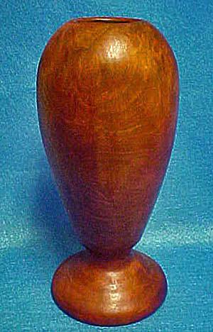 Wood Vase - Handmade/Hardwood (Image1)