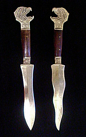 Pair Far East Letter Openers (Image1)