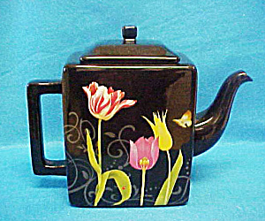 Nature's Journey Floral Teapot - Signed (Image1)