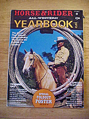 Horse & Rider All-western Yearbook # 9 - 1979