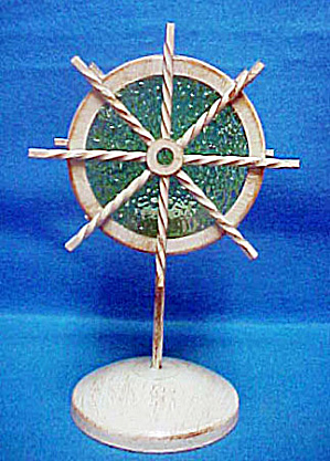 Ship's Wheel Designed Tea-light Candle Holder