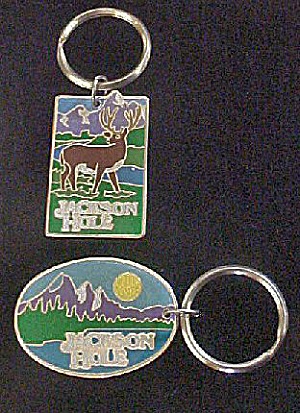 Jackson Hole, Wyoming Advertising Key Chains (Image1)