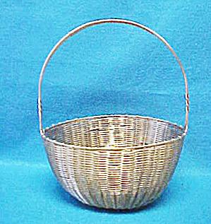 Woven Metal Basket (Image1)