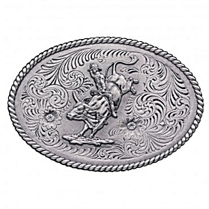 Bull Rider Metal Truck Hitch Cover (Image1)