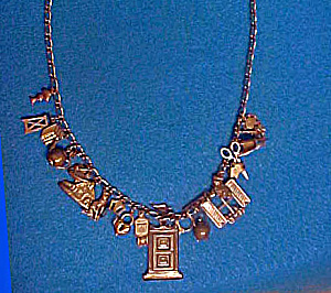 Vintage Piddle Links Charm Necklace (Image1)