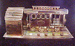 Trolley/cable Car Metal Music Box